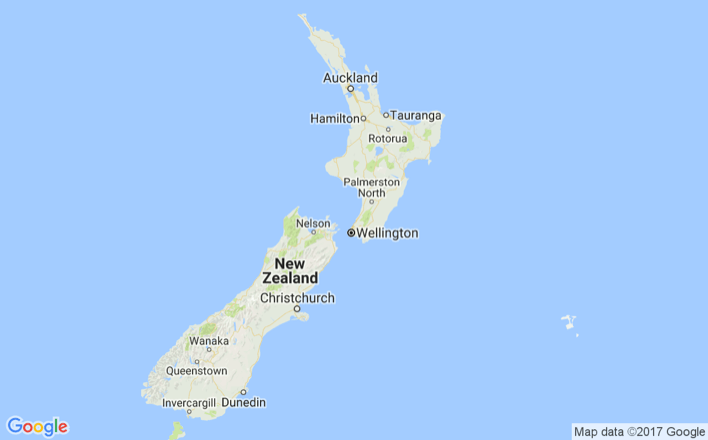 New Zealand Map Google.New Zealand Visitbritain