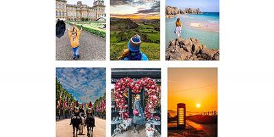 A series of destination images