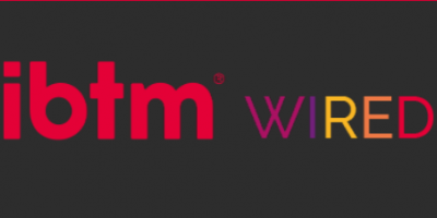 IBTM Wired logo red and multi-coloured