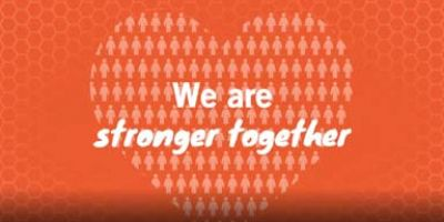 We are stronger together campaign