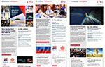 Screengrabs of past enewsletters