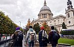 young people visiting St Paul's
