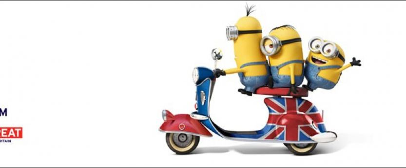 We have launched PR-led digital activity surrounding the launch of the new Minions film, which sees the characters come to Britain.