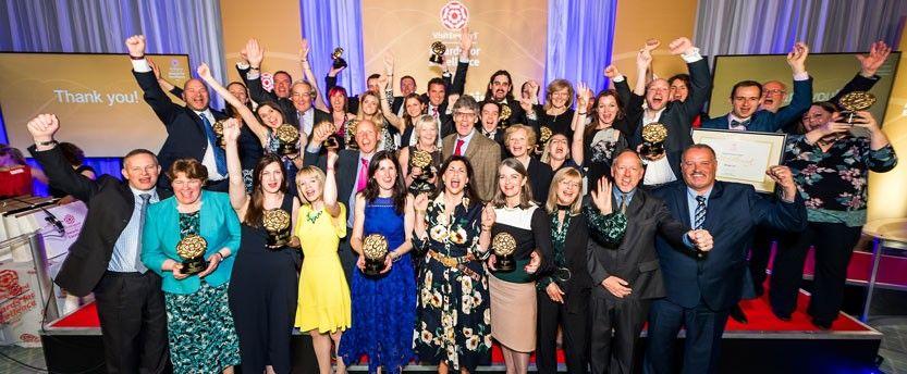 VE Awards winners group shot with Kirstie Allsopp