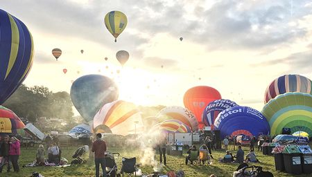 Bristol International Balloon Festival, Bristol, England.