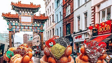 Bubblewrap streetfood in Chinatown, London