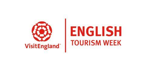 English Tourism Week logo + VisitEngland logo