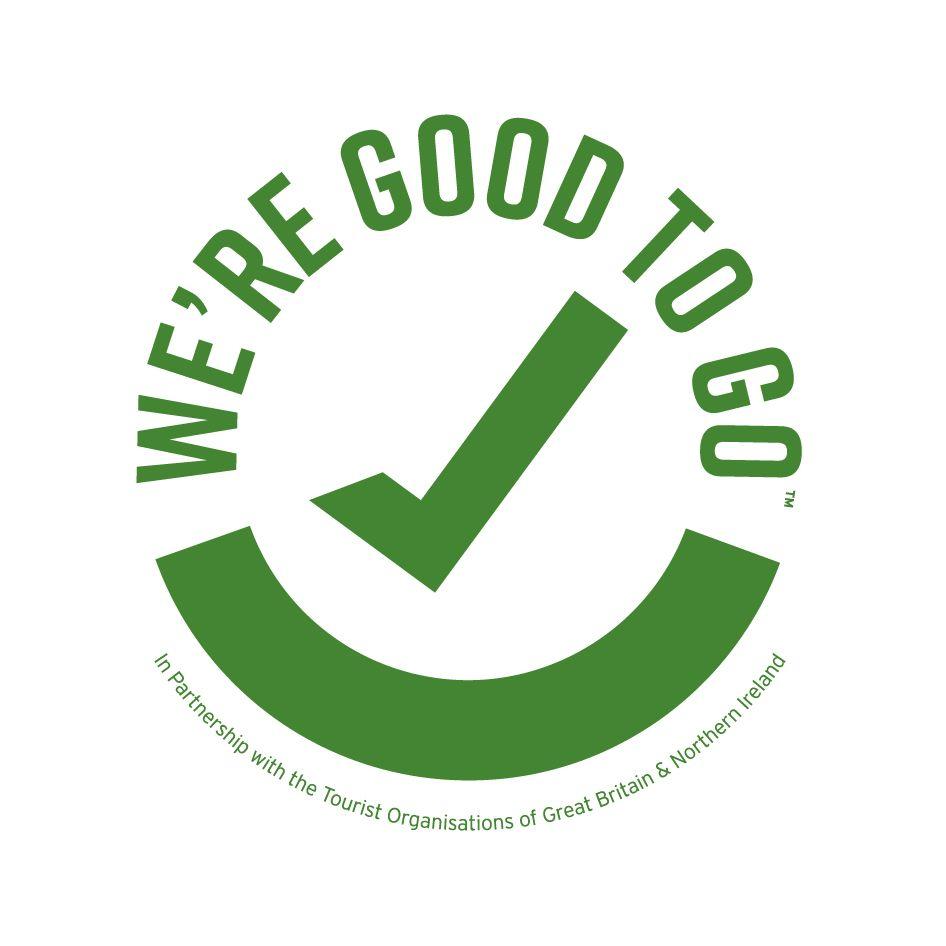 We're Good to Go visitengland logo
