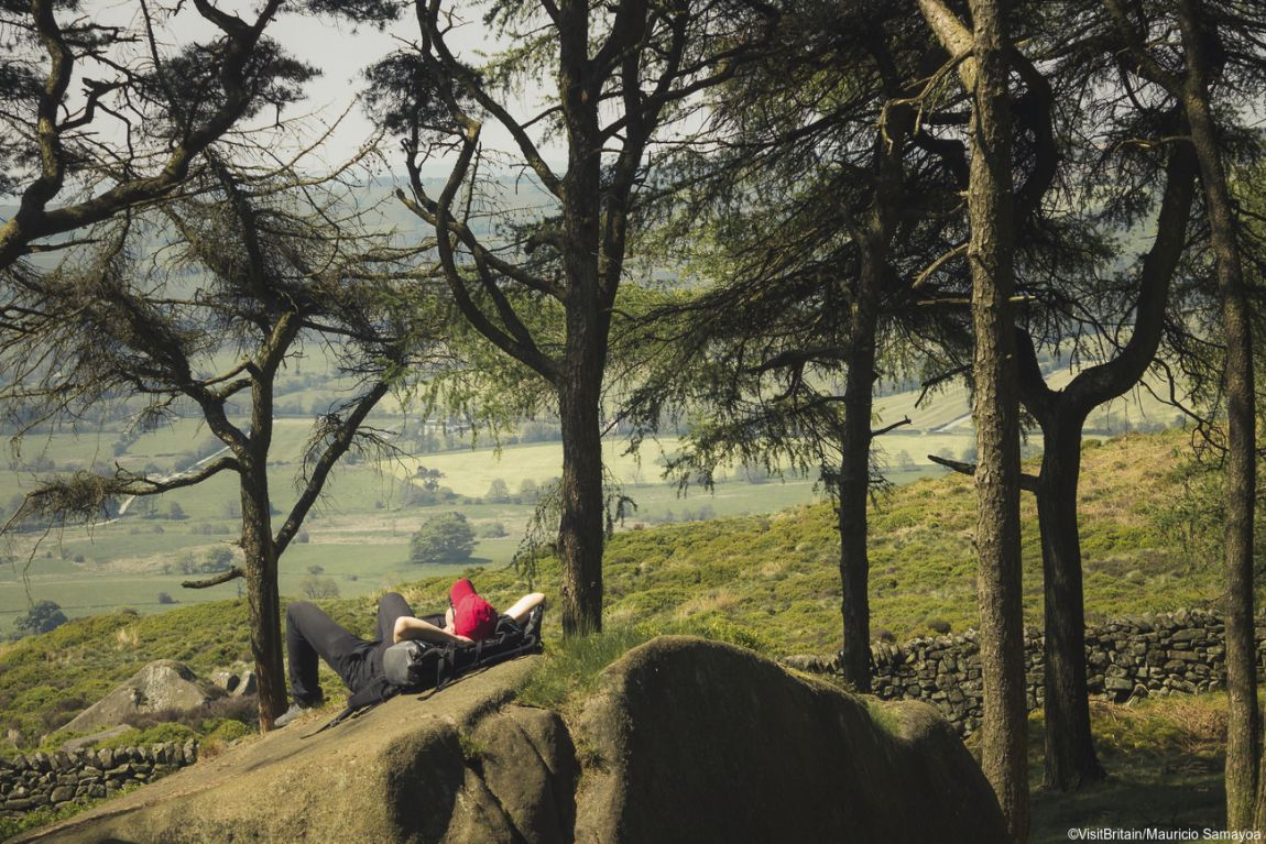 The Roaches, Staffordshire, England.