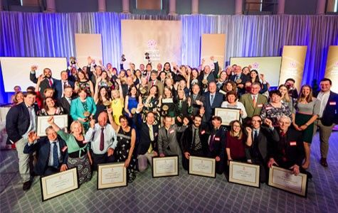VE Awards 2018 winners group