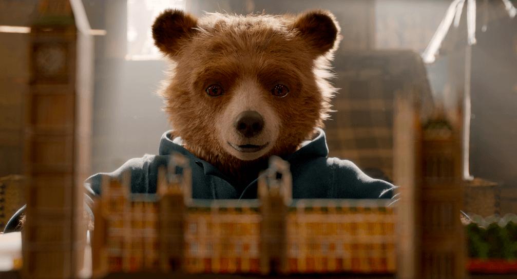 Still of bear from Paddington 2 movie