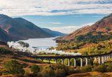 Harry Potter é sinônimo de Grã-Bretanha, especialmente o viaduto Glenfinnan na Escócia