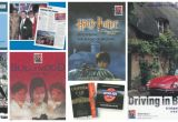 A collage of vintage marketing materials showing VisitBritain's activities and campaigns from the 2000s.
