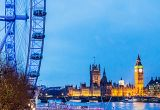 London Eye, Palace of Westminster and Big Ben