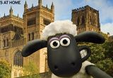 Shaun the Sheep selfie