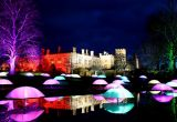Sudeley Castle - Spectacle of Light, Gloucestershire, England.