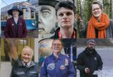 Tourism Superstar finalists 2019 - Top row right to left: Martin Curtis, Emily Hope, Ryan Sanders, Sarah Bird, Tim Green. Bottom row:  Amanda Bryett, Larry Bowden, Emma Ashley, Anthony Hurd, Jess Twitchin.