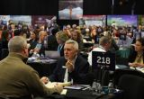People meeting at ExploreGB 2019
