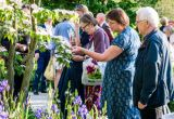 Guests at Chelsea flower show 2019 VsitBritain event