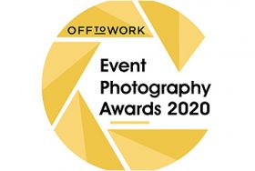 Off to Work event photography awards logo