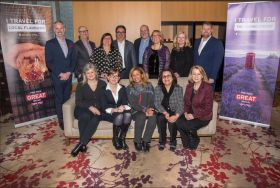 Group photo of the Canadian tourism advisory council