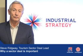 Steve Ridgway, Tourism Sector Deal Lead