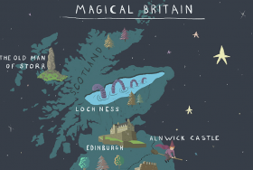 Magical Britain Map