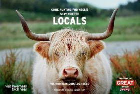 Come hunting for Nessie - stay for the locals; Highland Cattle