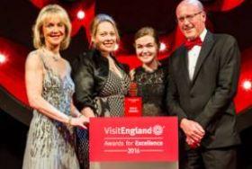 Winner of Tourism Superstar award Lilian Groves VisitEngland Awards