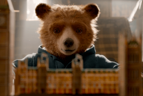 Still of bear from Paddington 2 movie