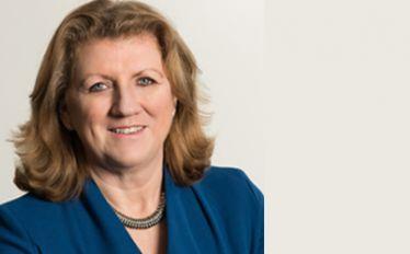 Portrait of VisitBritain/VisitEngland CEO Sally Balcombe