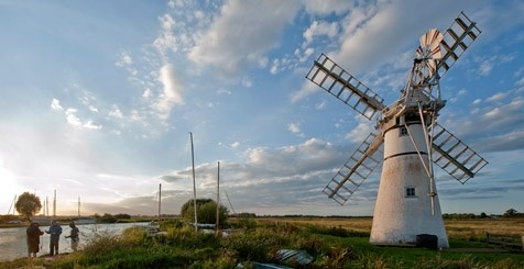 A lighthouse in the Norfolk Broads