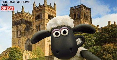 Shaun the Sheep selfie