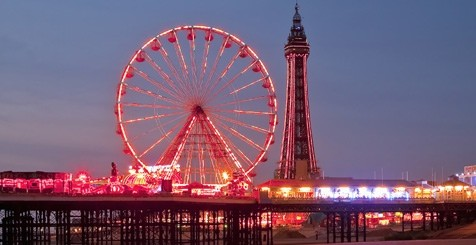 view of Blackpool