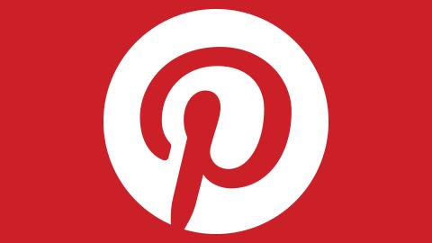 Red Pintrest logo