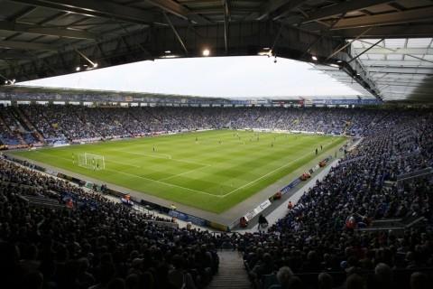 Inside Leicester City Football Club Stadium