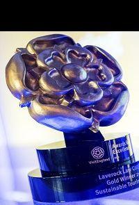 VisitEngland award trophy