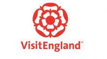 VisitEngland logo, a red Tudor rose