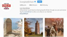 Love Great Britain Instagram homepage