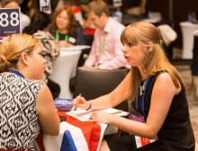 One to one meetings at Destination Britain Americas