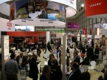 The VisitBritain Stand at ITB Berlin 2016