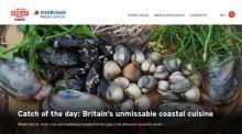 Screenshot of VisitBritain's Online Media Centre homepage