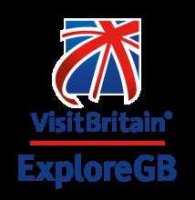 ExploreGB logo with VisitBritain logo