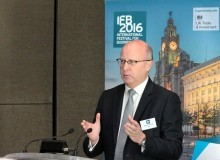A man speaking at IFB