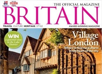 front cover of Britain magazine September 2018