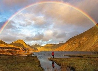 rainbow over Wast Water, Cumbria
