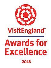 VisitEngland Awards for Excellence 2018 logo