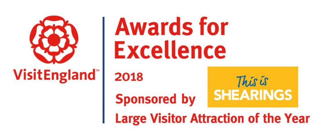 Shearings sponsor logo awards for excellence