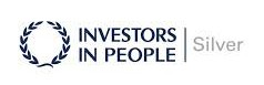 Investors in People silver award logo awarded for commitment to staff