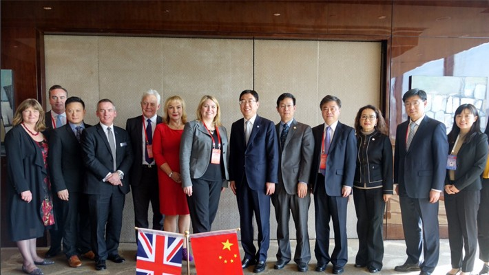 Tourism bilateral as part of UK China P2P